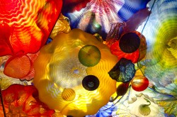 Seattle 2013 - Chihuly Gallery - Coloured Ceiling - AS