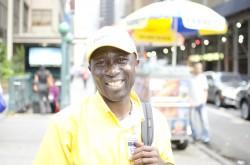 NYC 2012 -  Man Smiles