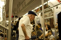 NYC 2012 - Old Subway Rider 2