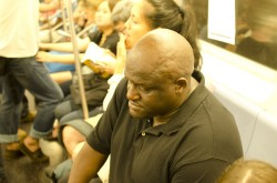 NYC 2012 -  Subway Rider 1